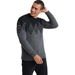 Men's Badland Crew Knit B