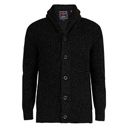 Men's Jacob Shawl Knit Bl
