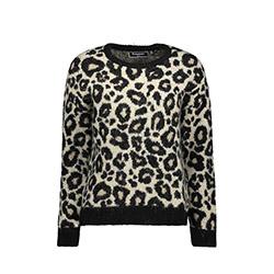Lisa Leopard Jumper Blous