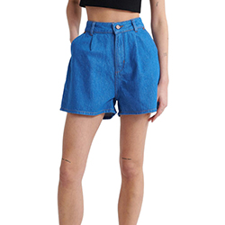 Women's A Line Denim Shor