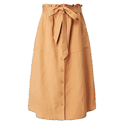 Women's Eden Linen Skirt