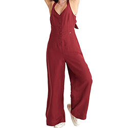Women's Eden Linen Jumpsu