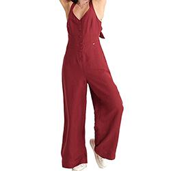 Women's Eden Linen Jumpsu