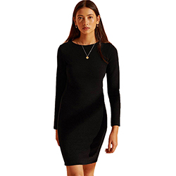 Women's Ottoman Bodycon D