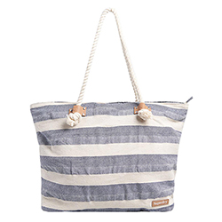 Women's Striped Rope Tote
