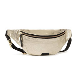 Women's Metallic Bum Bag