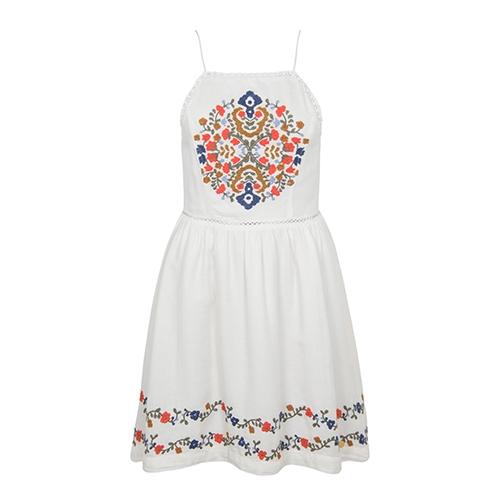 Katalina Apron Dress