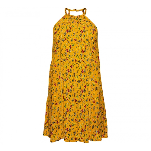 Riley Lace Halter Dress