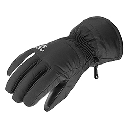 Force W Black White Glove