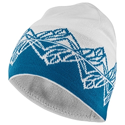 Graphic Beanie White Fjor