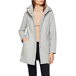 Women's Basic Wool Coat