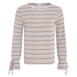 Women's Lurex Striped Blo