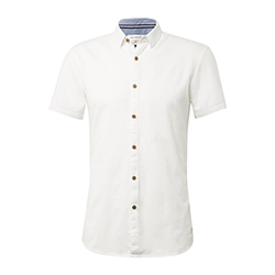 Men's Short-Sleeved Pique