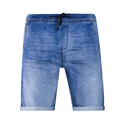 Men's Sweat Denim Shorts