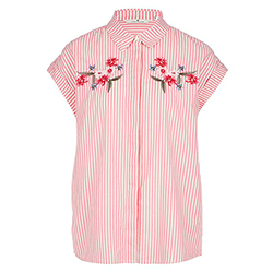 Women's Shirt With Embroi