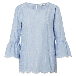 Women's Blouse With Open-