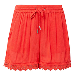 Women's Relaxed Lace Shor