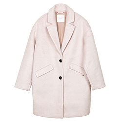 Women's Wool Cocoon Coat
