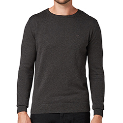 Men's Basic Crew Neck Kni