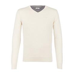 Men's Simple Vneck Knitte
