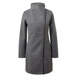 Women's Biker Wool Coat