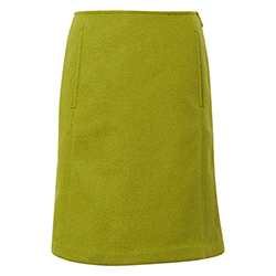 Women's Skirt With Wool-L