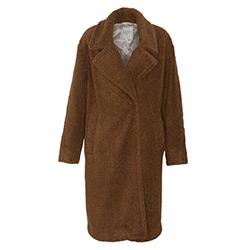 Women's Teddy Long Coat