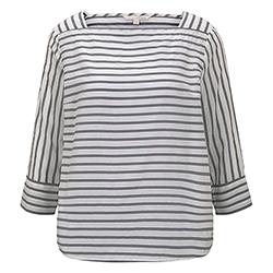 Women's Striped Carree Sh