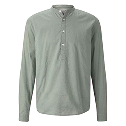 Men's Shirt with Half But