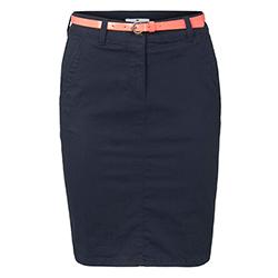 Women's Midi Belted Skirt