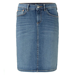 Women's Plain Denim Skirt