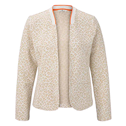 Women's Printed Blazer