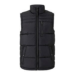 Men's Quilted Vest With a