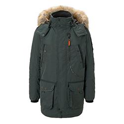 Men's Padded Parka Jacket