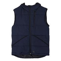 Men's Puffer Vest with Ho
